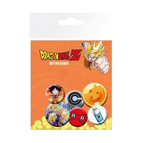 Pack de Chapas Dragon Ball Z Mix