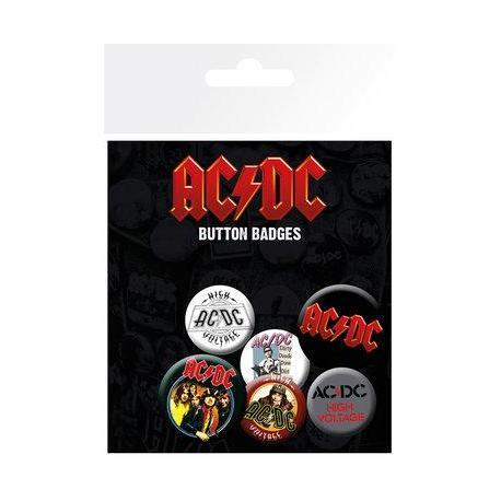 Pack de Chapas AC/DC Mix