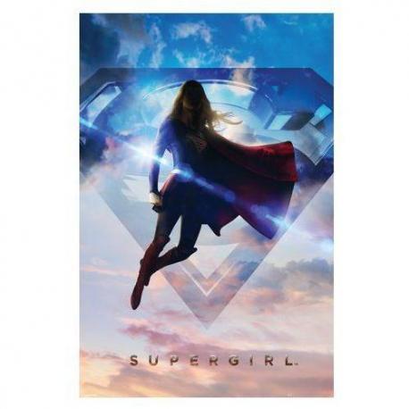 Poster Supergirl en las Nubes