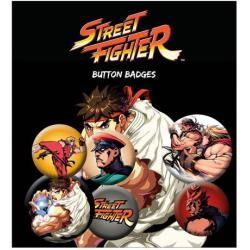 Pack de Chapas Street Fighter Mix
