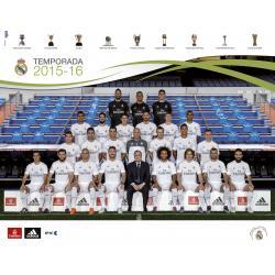 Mini Poster Real Madrid Plantilla 2015/2016