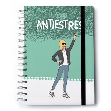 Cuaderno A5 Premium Moderna de Pueblo Antiestrés