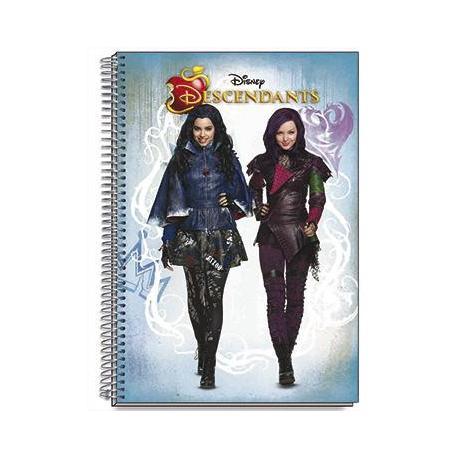 Cuaderno Tapa Dura A4 Disney Descendants