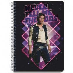 Cuaderno Tapa Dura A5 Star Wars