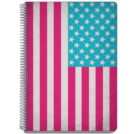 Cuaderno Tapa Dura A5 Nueva York Colores