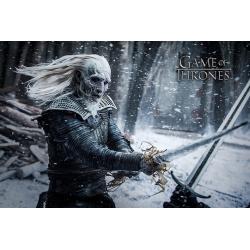 Poster Juego de Tronos White Waker