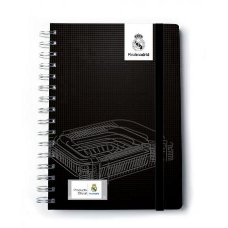 Cuaderno A5 Real Madrid