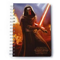 Cuaderno A5 Premium Star Wars Vii Kylo Ren