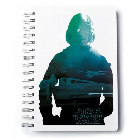 Cuaderno A5 Premium Star Wars Vii
