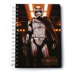 Cuaderno A5 Premium Star Wars Vii Captain Phasma