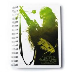 Cuaderno A5 Premium Star Wars Vii Chewbacca