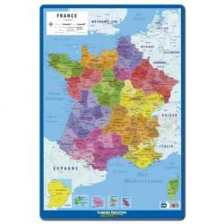 Lamina Educativa Mapa de Francia Regiones