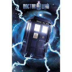 Poster Dr. Who Tardis