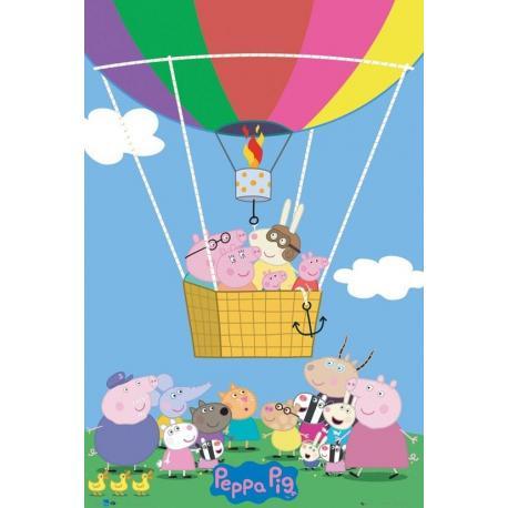 Poster Peppa Pig Globo