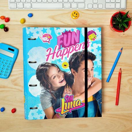 Carpeblock 4 Anillas Premium Soy Luna