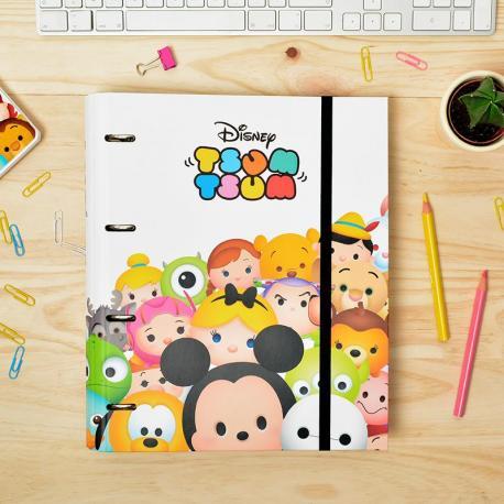 Carpeblock 4 Anillas Premium Disney Tsum Tsum