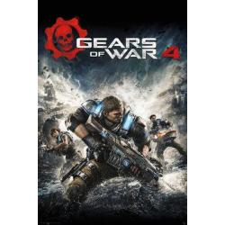 Poster Gamer Gears of War 4 Portada