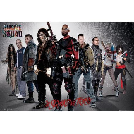 Poster El Escuadrón Suicida Grupo