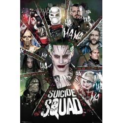 Poster El Escuadrón Suicida Círculo