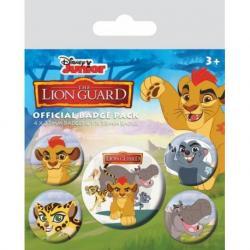 Pack de Chapas The Lion Guard Personajes