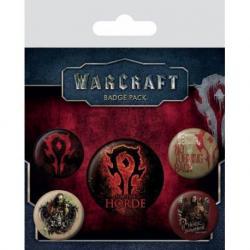Pack de Chapas Warcraft La Horda