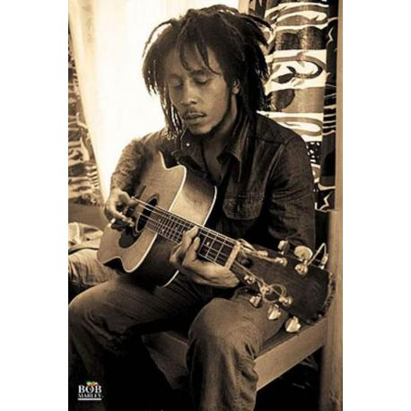 Poster Bob Marley Sepia