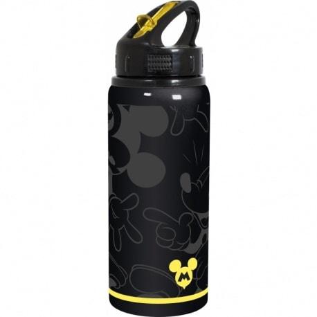 Botella Deportiva de Aluminio Mickey