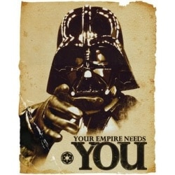 Miniposter Star Wars Empire Needs You