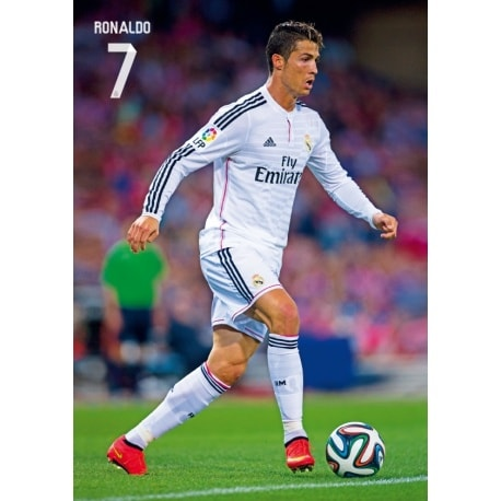 Postal A4 Real Madrid Ronaldo