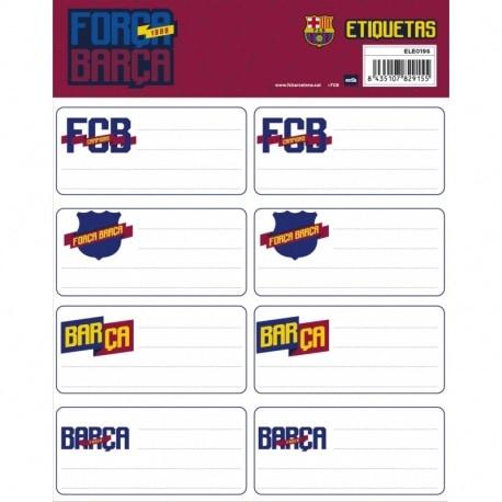 Etiquetas Gr. F.C. Barcelona