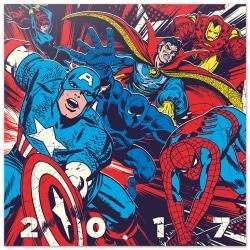 Calendario Pared 2017 Marvel Comics