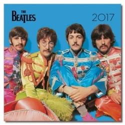 Calendario Pared 2017 The Beatles