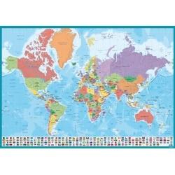 Vade Escolar World Map