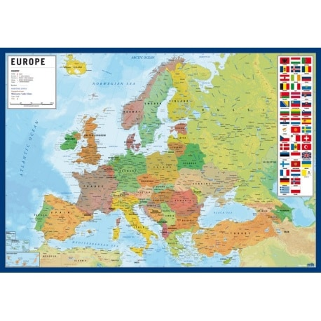 Vade Escolar Europe Map