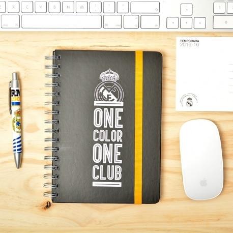 Cuaderno A5 Premium Real Madrid