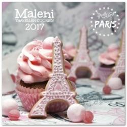 Calendario Pared 2017 Maleni