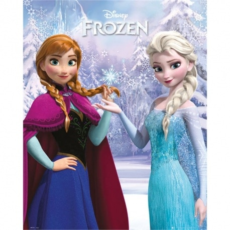 Miniposter Frozen Duo