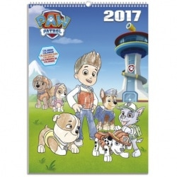 Calendario Pared A3 2017 La Patrulla Canina