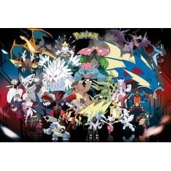 Poster Pokemon Mega
