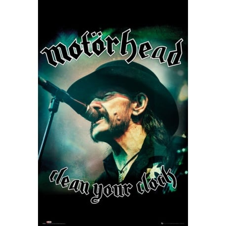 Poster Motorhead Clean Your Clock