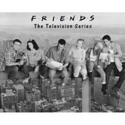 Mini Poster Friends en viga