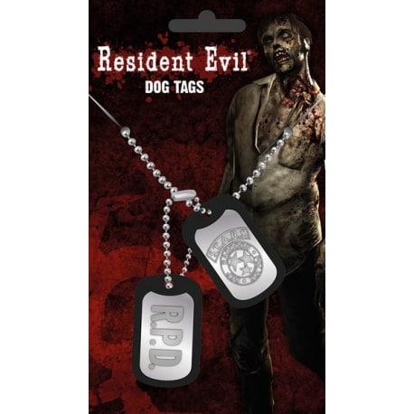 Chapa Militar Resident Evil Stars
