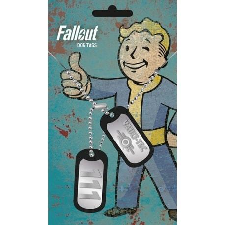 Chapa Militar Fallout 4 Vault Tec