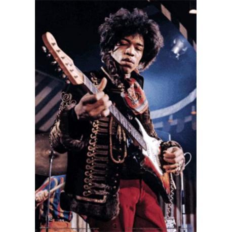 Poster 3D Jimi Hendrix Gui