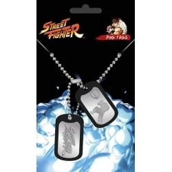 Chapa Militar Street Fighter