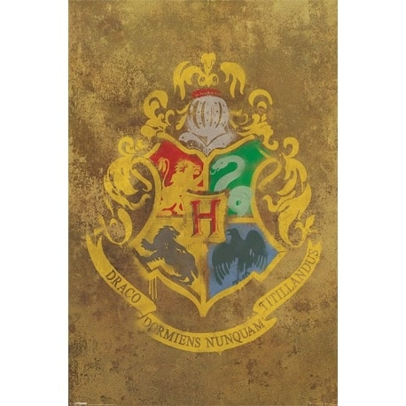 Poster Harry Potter Sello Hogwarts