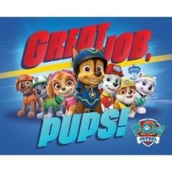 Mini Poster La Patrulla Canina ¡Buen Trabajo!