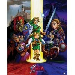 Mini Poster Zelda Ocarina of Time