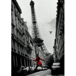 Poster 3D Torre Eiffel