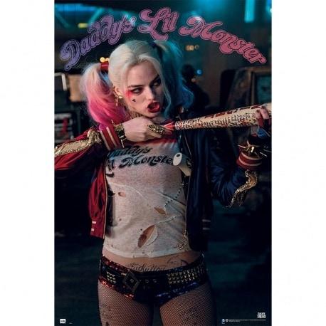 Poster Escuadron Suicida Harley Quinn